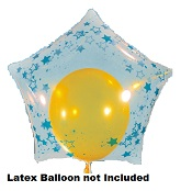 """22"""" Sparklets Endless Galaxy Star (Latex Not Included)"""