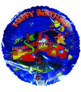 "18"" Happy Birthday Firetruck on the go"