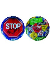 "18"" Stop Sign at 30th Birthday"