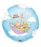 """9"""" Airfill Only Baby Shower Bear Balloon"""