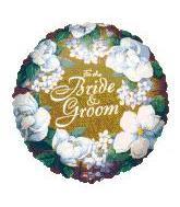 "8"" Airfill For Bride & Groom Mini"