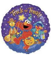 18'' Sesame St. Trick Or Treat