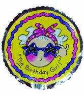 "18"" The Birthday Girl Purple Star Sunglasses"