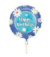 """32"""" Happy Birthday Sunny Days"""