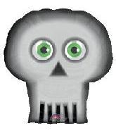 """24"""" Eyecatcher Skull"""