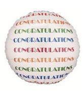 "24"" Congrats Repeat Round Balloon"