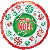 """18"""" Joyeux Noel Bonbons Balloon"""