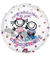 """18"""" Congratulations on Your Engagement"""
