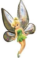 """66"""" Tinker Bell Jumbo Airwalker Balloon"""