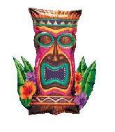 "30"" Tiki Island Idol Shape"