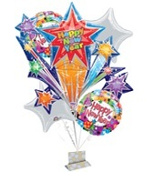 Colorful Celebration New Years Bouquet