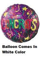"""18"""" Congrats Festive Balloon"""
