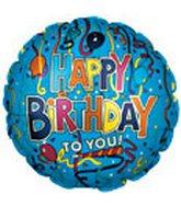 "18"" Happy Birthday Party Balloons Streamers"