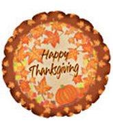 "18"" Happy Thanksgiving Leaves CTI"