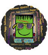 """18"""" Happy Halloween Cool Ghoul"""
