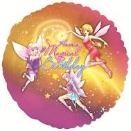 """18"""" Have A Magical Birthday Fairies Balloon"""