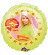 """18"""" Barbie Feliz Cumpleanos"""