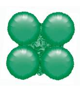 "30"" Magic Arch Large Balloon Metallic Green"