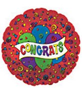 "31"" Congrats Jumbo Red"