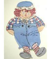 "36"" Raggedy Andy Balloon"