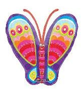"""25"""" Graphic Butterfly"""