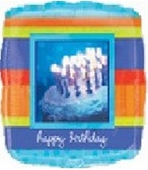 "9"" Airfill Rose Birthday Cake Photo"