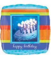 """32"""" Happy Birthday Cake Picture"""