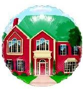 """18"""" Generic Red Mansion House"""