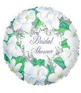 "18"" Bridal Shower Magnolias"