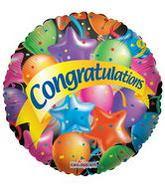 "36"" Festive Balloons Congratulations"
