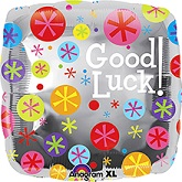 "18"" Good Luck Bubble Square"