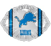 "18"" NFL Football Detroit Lions Balloon"
