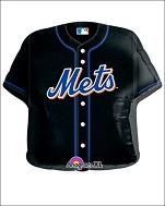 "24"" MLB New York Mets Jersey Balloon"