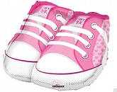 "21"" Baby Girl Shoes Shape Mylar Balloon"