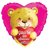 "18"" You're So Special Bear Balloon"