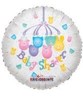 """18"""" Foil Balloon Baby Shower Mobile"""
