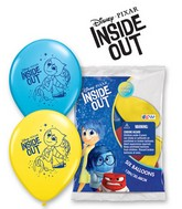 """12"""" 6 Count Special Assorted Disney Pixar Inside Out"""