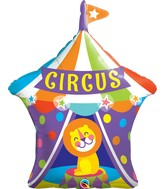 """36"""" Shape Packaged Big Top Circus Lion"""