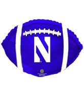 "21"" Northwestern University Wildcats Collegiate Football"