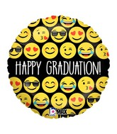 "9"" Balloon Emoji Graduation"
