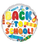 "18"" Back to School Balloon"