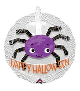 "24"" Purple Spider Balloon"