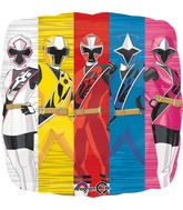 """18"""" Power Rangers-Ninja Steel Balloon"""