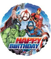 "18"" Avengers Happy Birthday Balloon"
