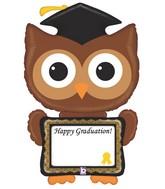 """46"""" Shape Packaged ReMARKables™ Owl Grad"""