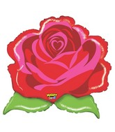 """29"""" Mighty Bright Shape Mighty Rose"""