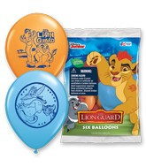 """12"""" 6 Count Special Assorted Lion Guard"""