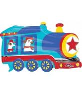 """30"""" Jumbo Happy Train Foil Balloon"""