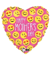 """18"""" MAX Float Balloon Emoji Mother's Day"""