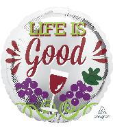 "18"" Life Is Good Balloon"